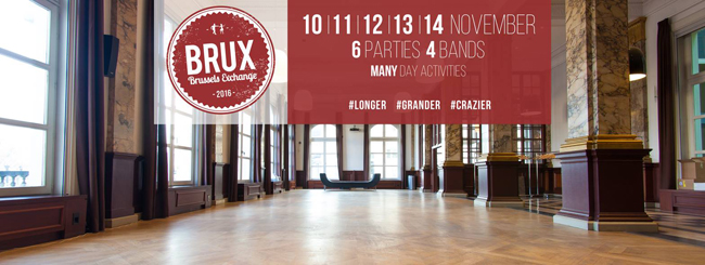 BRUX - Brussels Exchange 2016