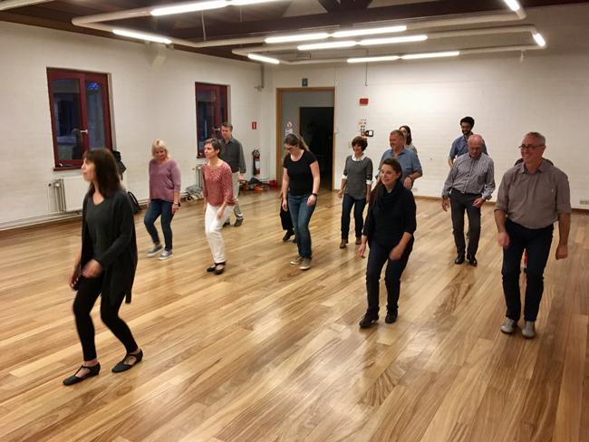 Dance school Wemmel, first class