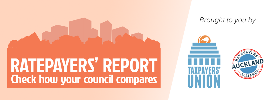 Ratepayers' Report banner