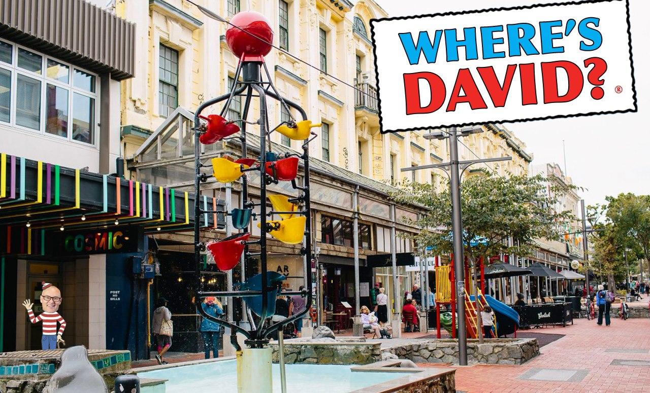 Where's David?
