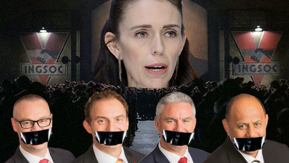 Ministers gagged