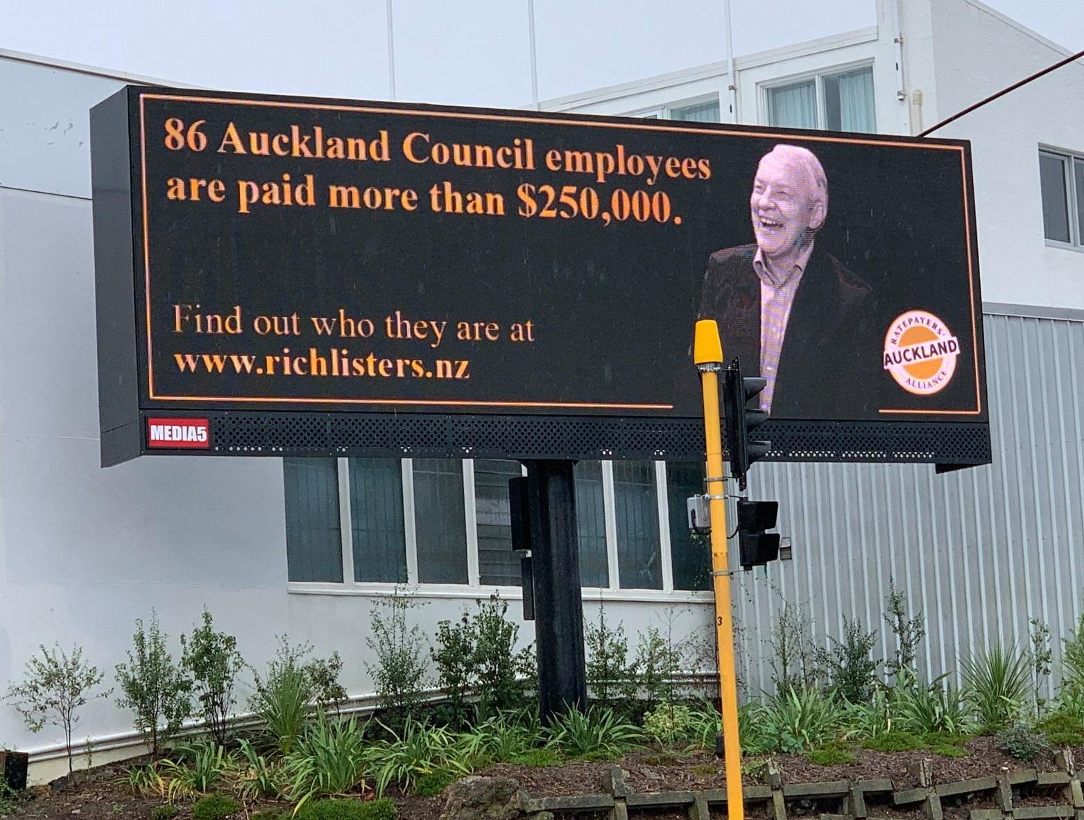 Goff billboard