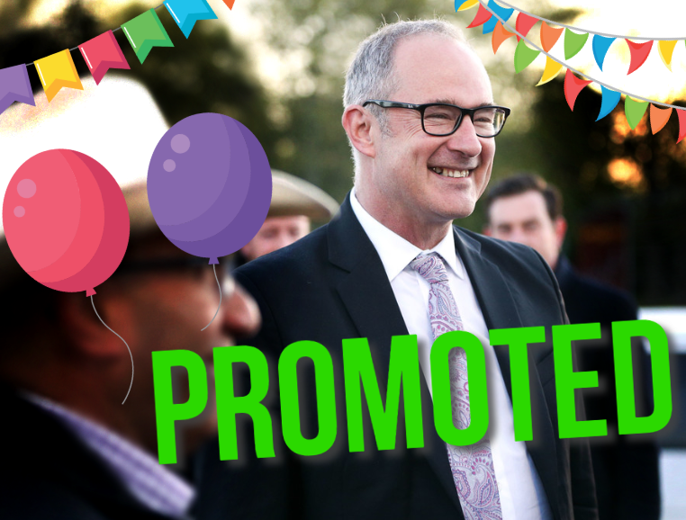 Twyford promoted