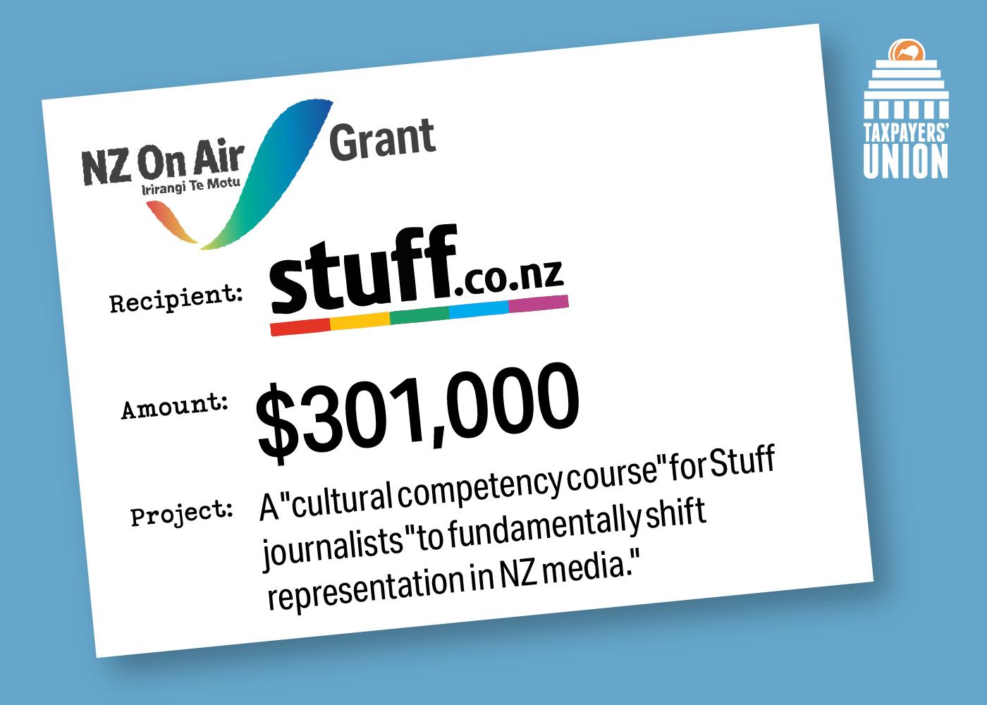 NZ on Air grant