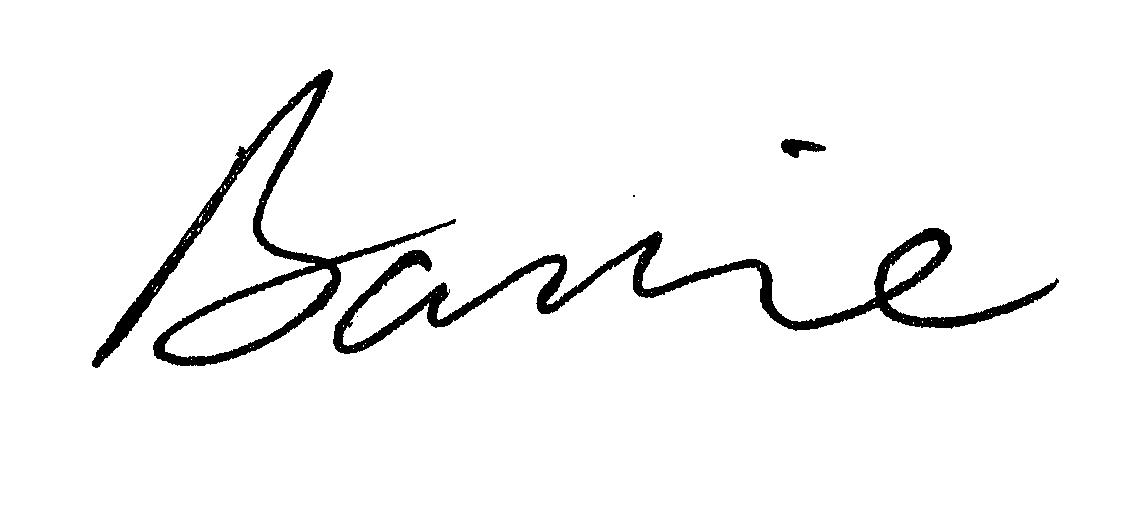 Barrie signature