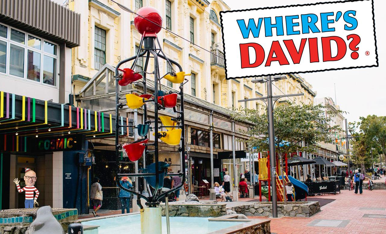 Where's David image