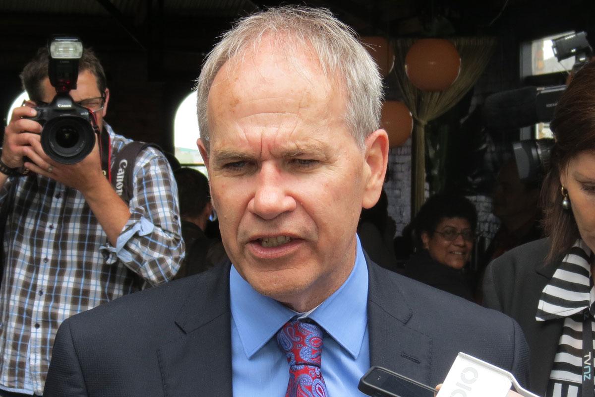 Len Brown (image TV3)
