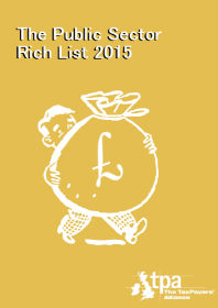 The Public Sector Rich List cover