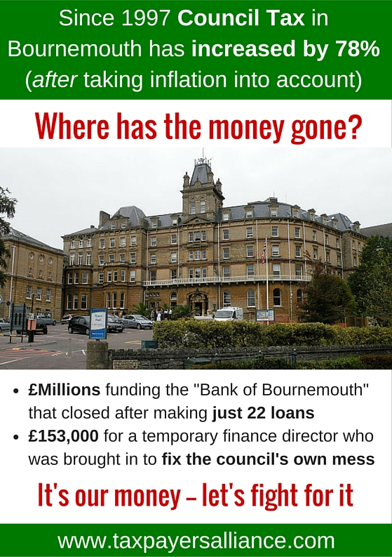 Bournemouth flyer The TaxPayers' Alliance
