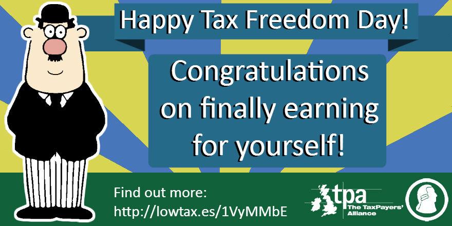 Happy Tax Freedom Day 2016!