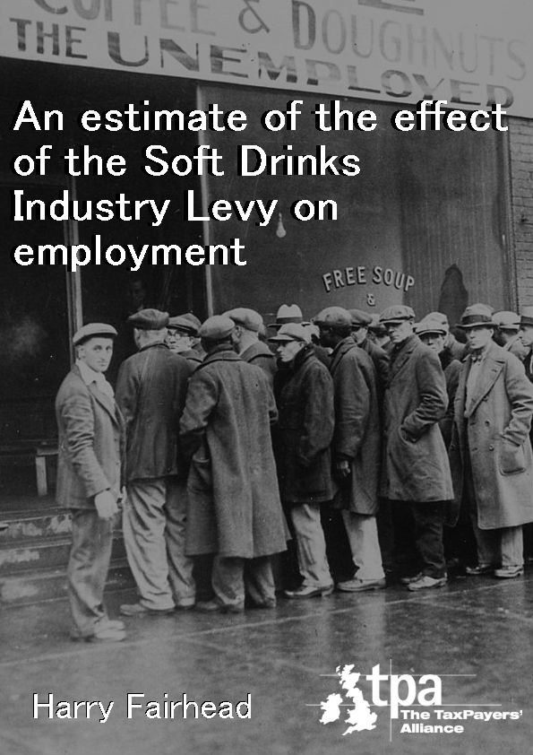 An estimate of the effect of the Soft Drinks Industry Levy on employment cover