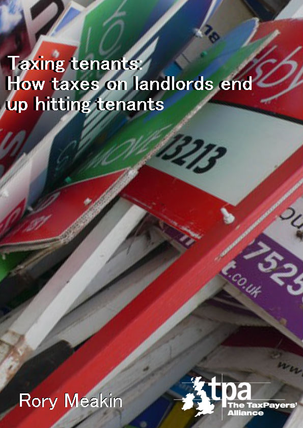 Taxing tenants: How taxes on landlords end up hitting tenants cover