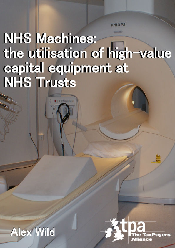 NHS Machines research cover