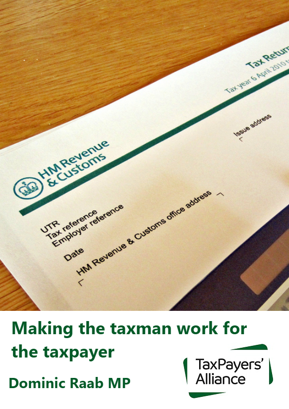 Making the taxman work for the taxpayer