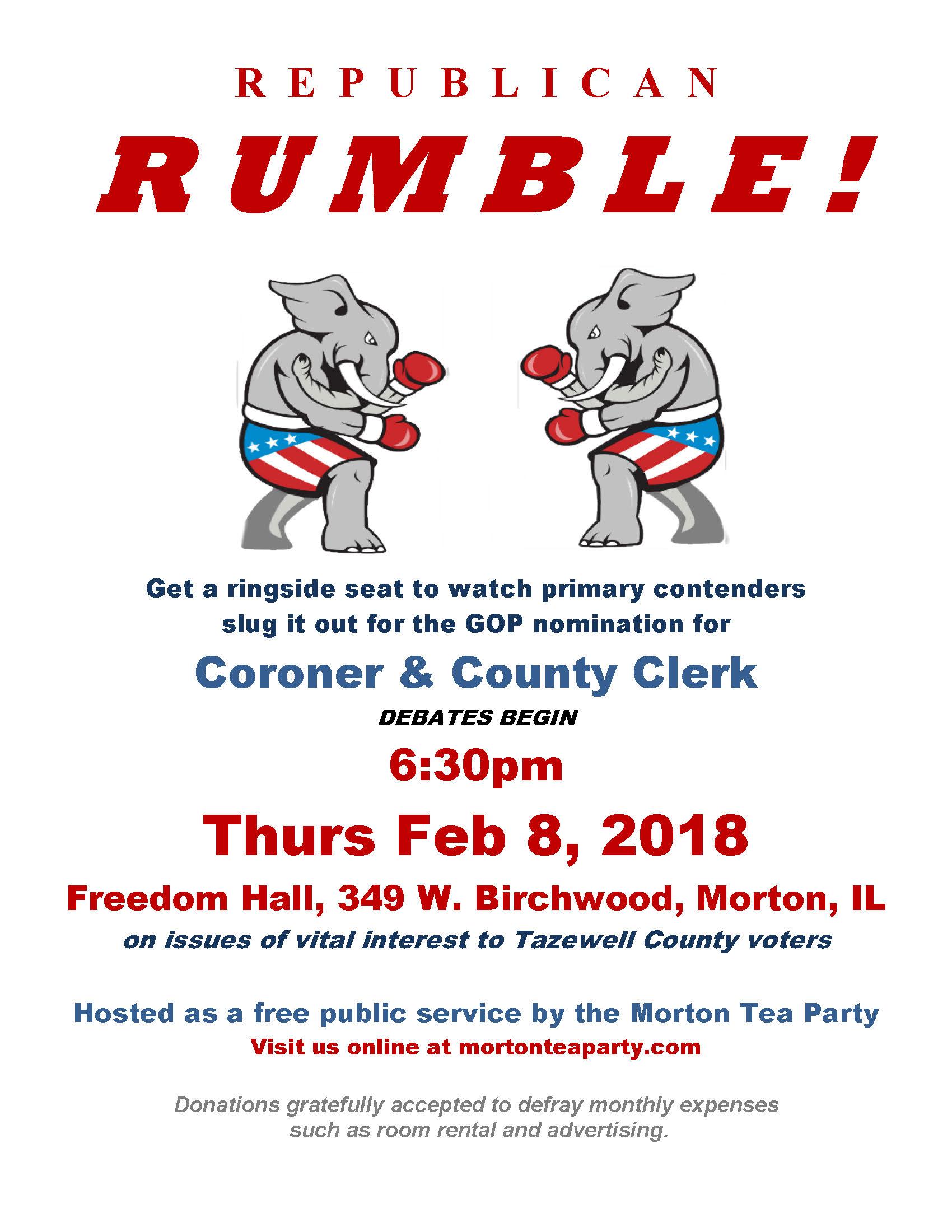 Morton Tea Party Candidate Forum