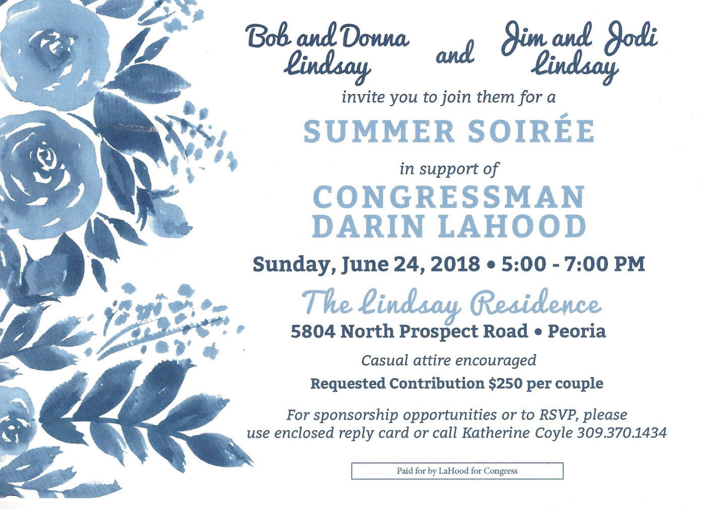 Summer Soiree - Darin LaHood