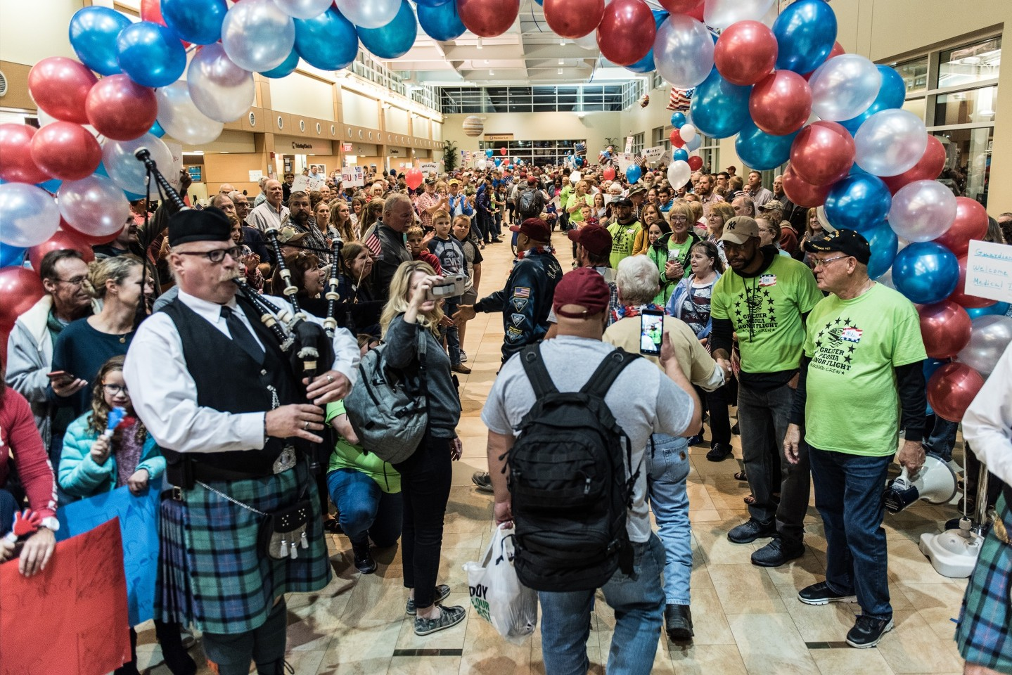 Greater Peoria Honor Flight Homecoming