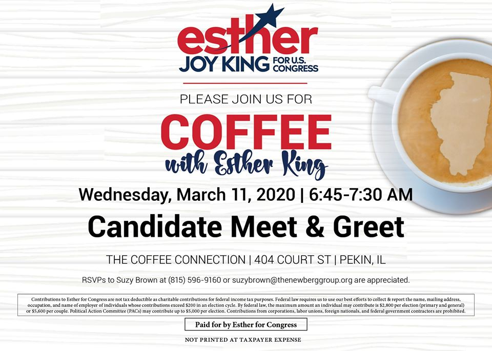 Coffee with Ester King