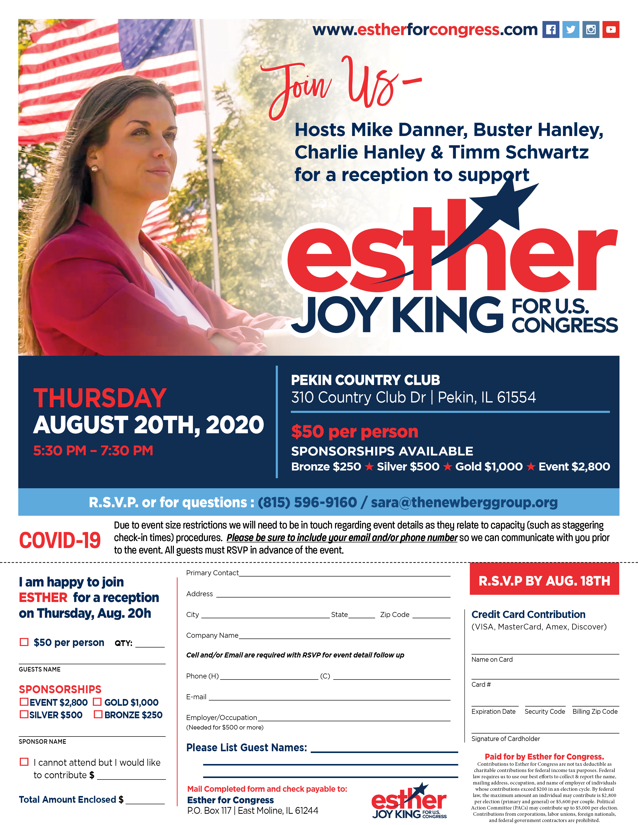 Esther Joy King Reception
