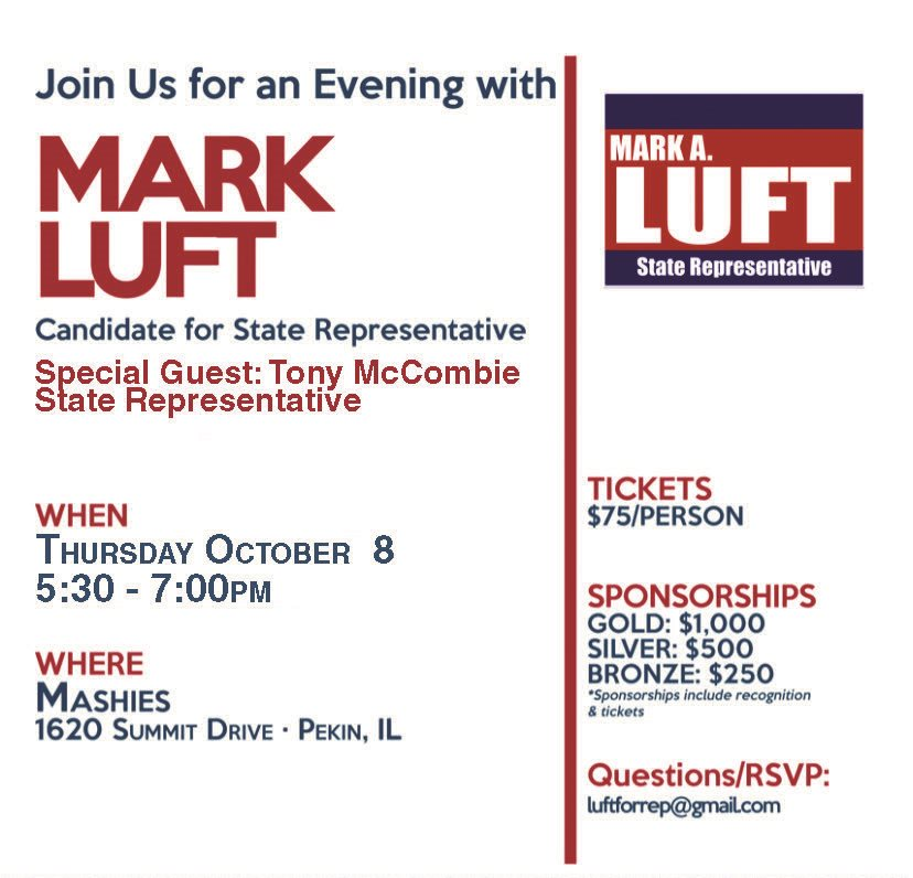 An Evening with Mark Luft