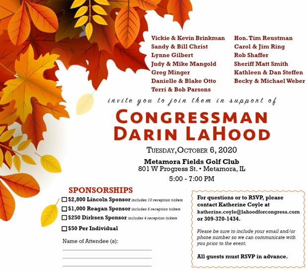 Congressman Darin LaHood
