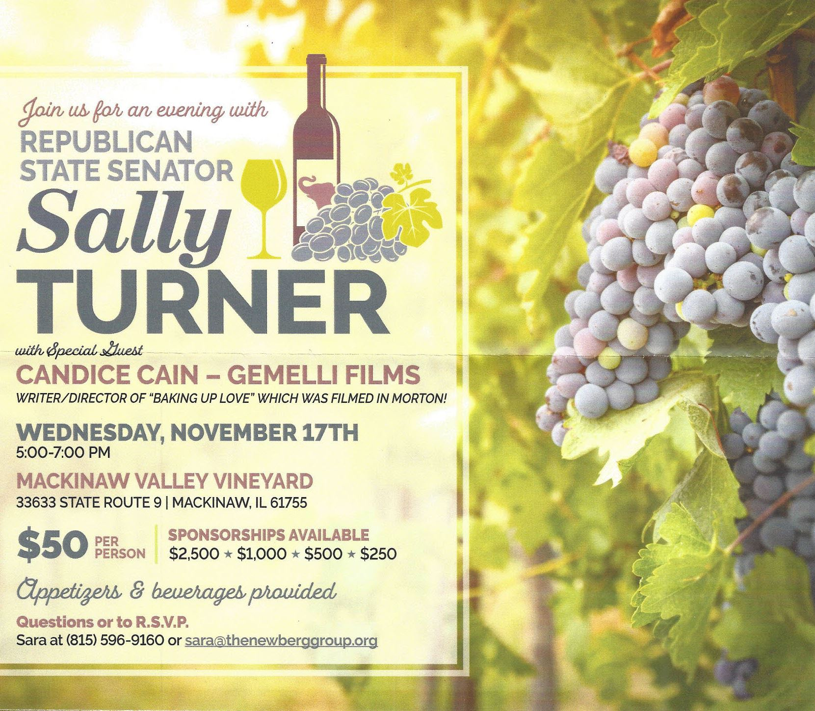An Evening With Sally Turner