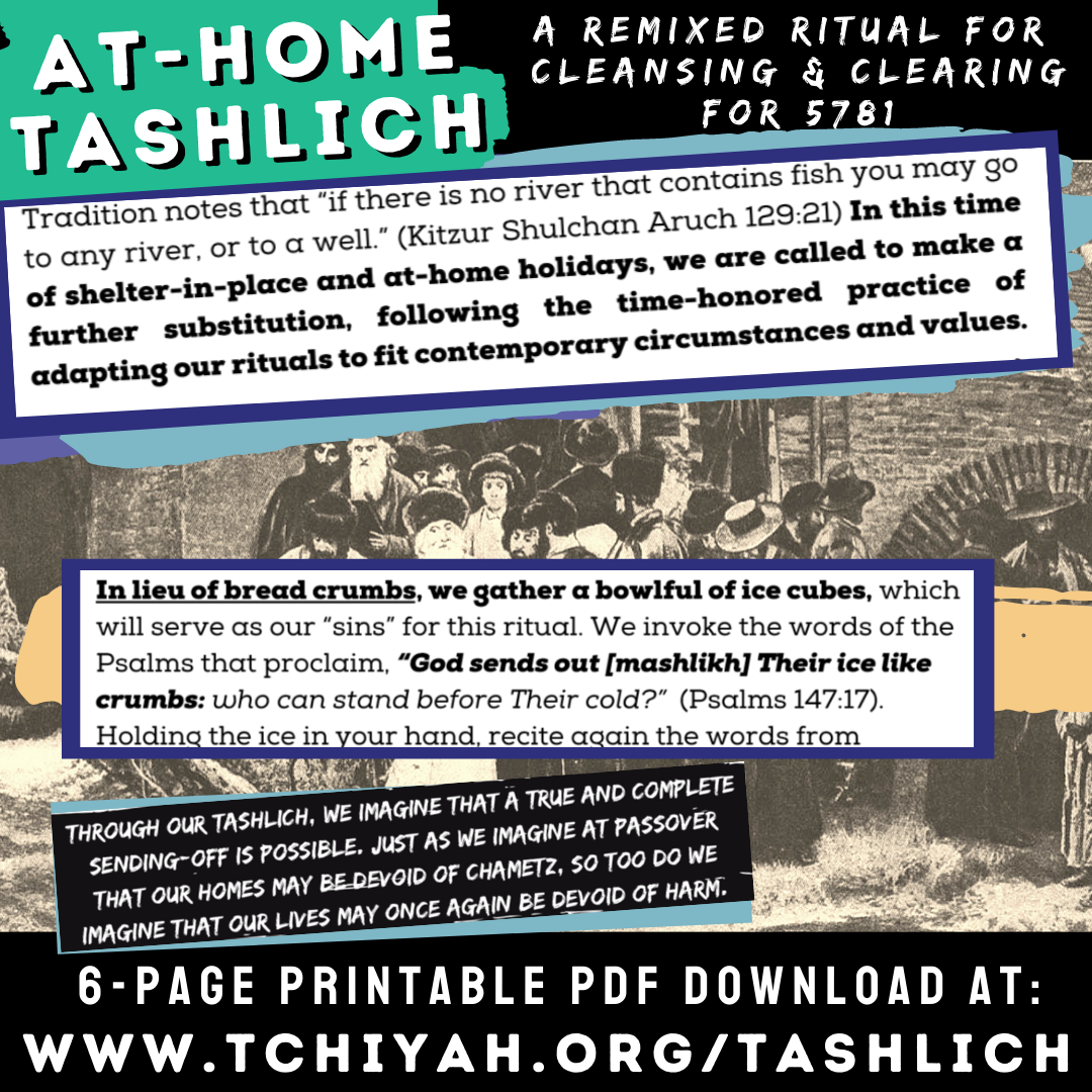 At-Home Tashlich