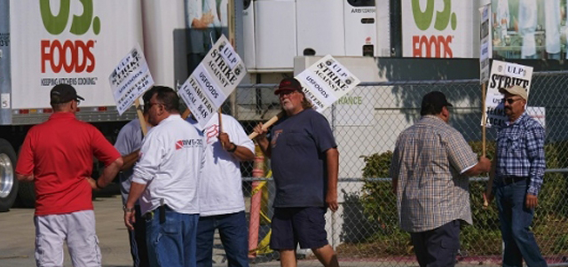 US Foods Teamsters Under Attack Across the Country