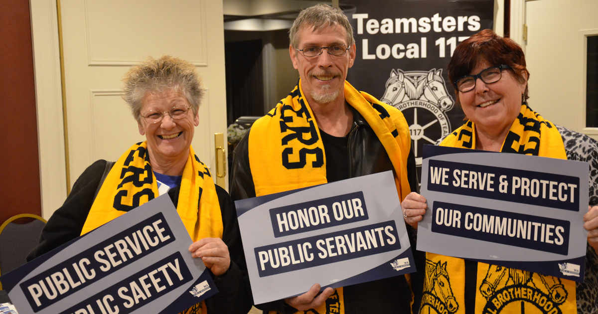 Lobby Day 2018: A great day for Teamsters in Olympia Image