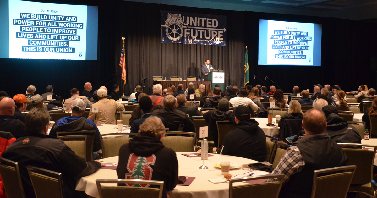 Power and solidarity: Shop stewards are united for the future Image