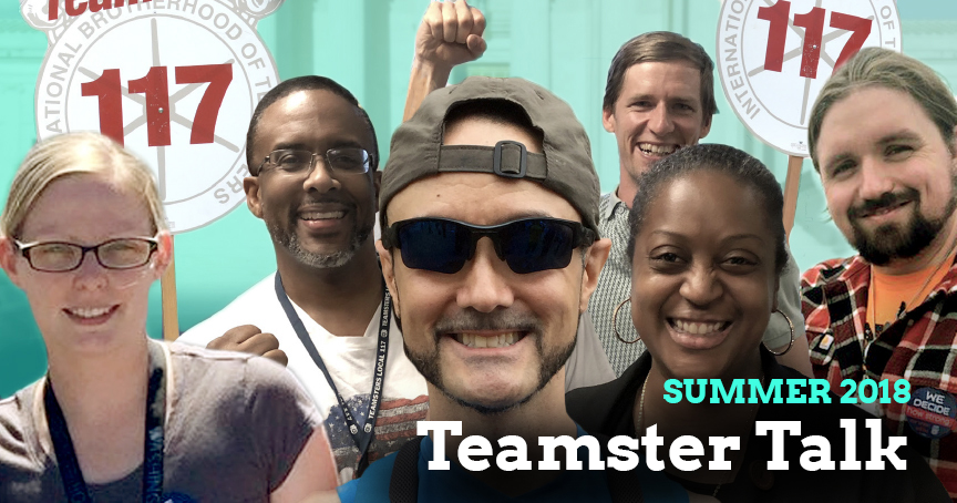 Teamster Talk of the Summer: We Decide Our Union Strength Image