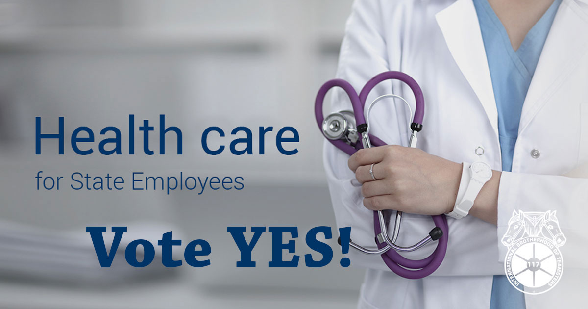 State employee health care agreement - VOTE YES! Image