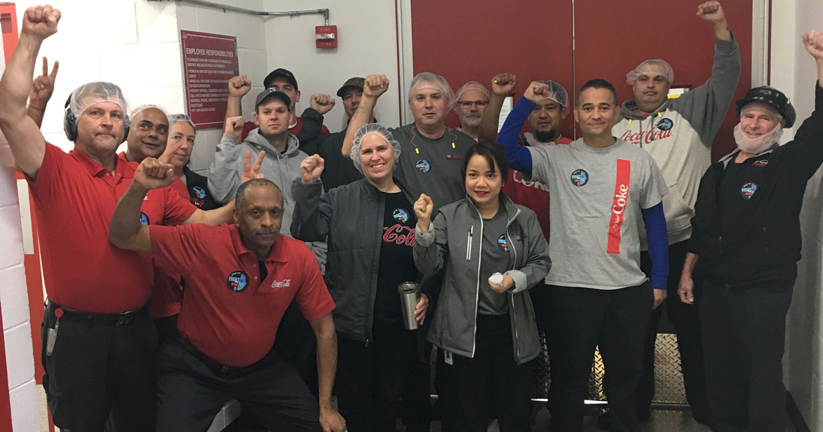 Teamsters rally behind Local 117 Shop Steward, Van Huynh Image