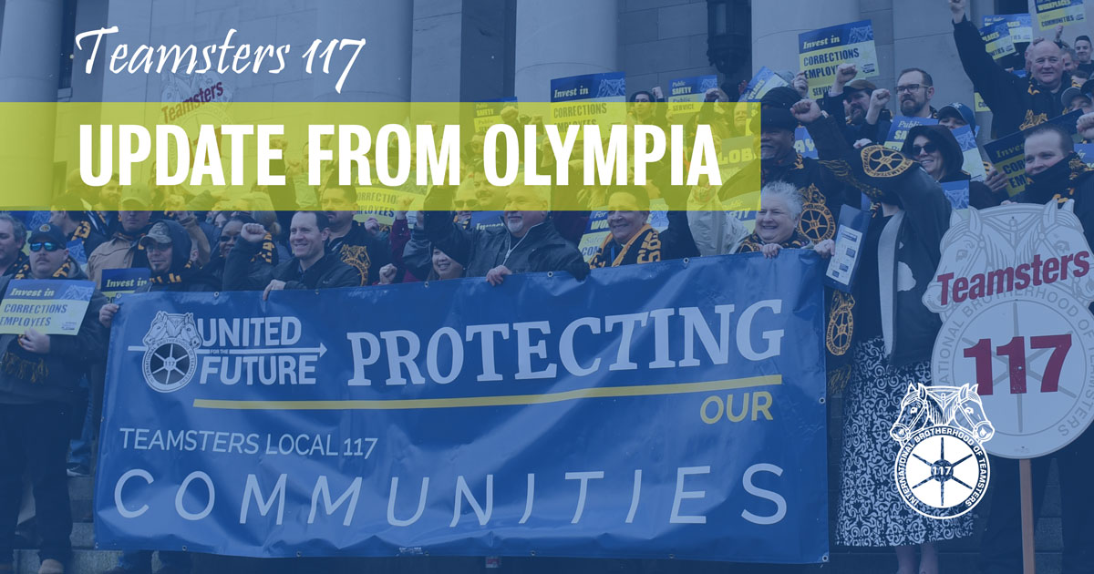 Great news from Olympia for DOC Teamsters Image