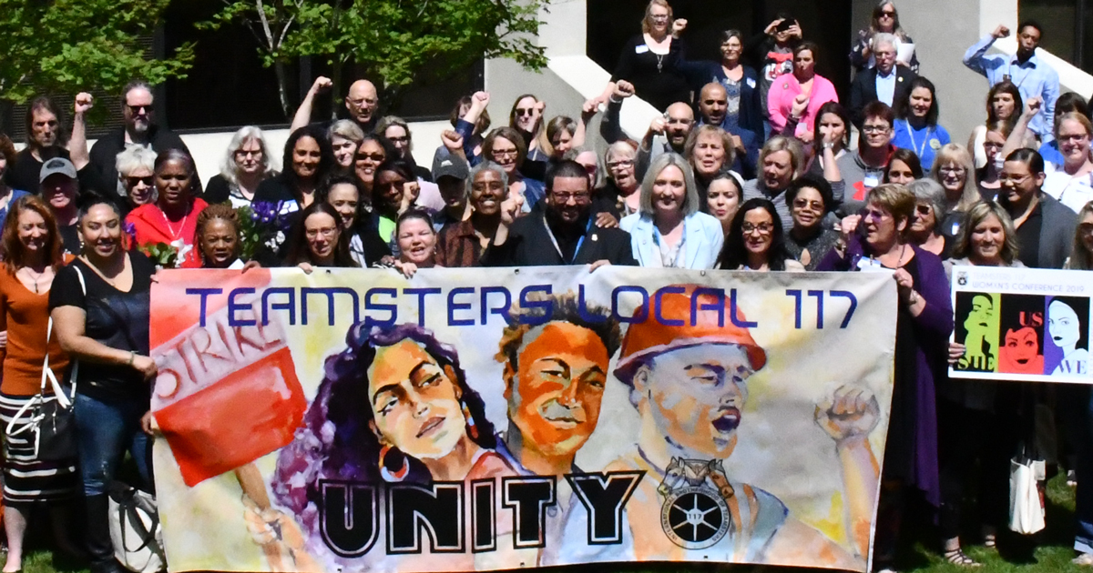 Womxn's Conference brings  a powerful Teamster sisterhood to our union Image