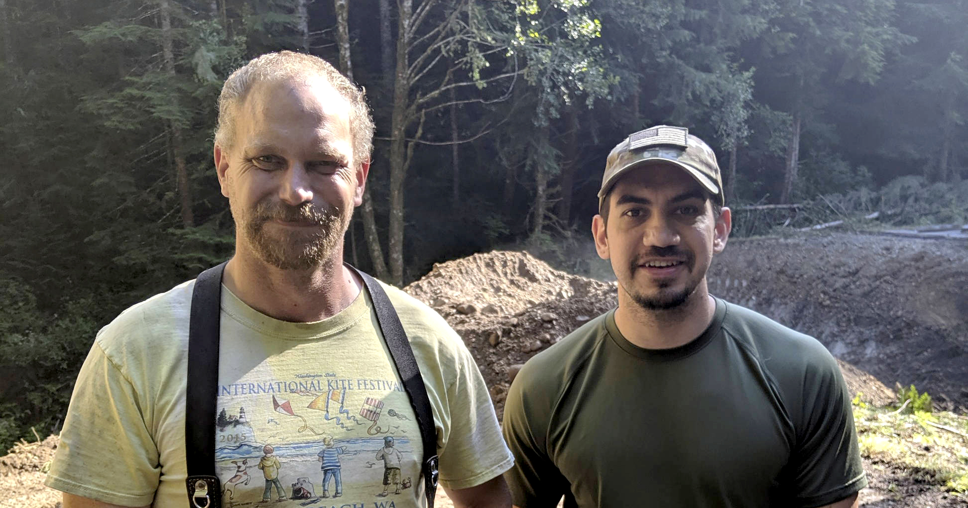 Hero Teamster Apprehends Runaway Inmate near Olympic National Forest Image
