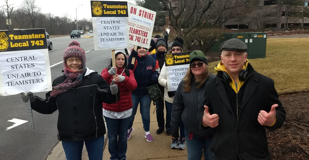 TeamCare Employees on Strike - Teamsters for a Democratic Union