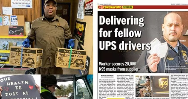 Donate: Protect UPSers from COVID-19