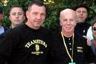JoJo Burhoe and International VP John Murphy