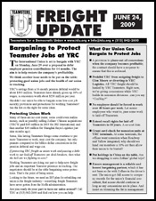 Download a bulletin you can distribute to other freight Teamsters.
