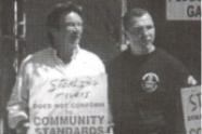 John Perry and JoJo Burhoe