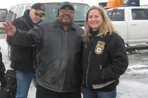 Sandy Pope meets with YRC Teamsters in Chicago
