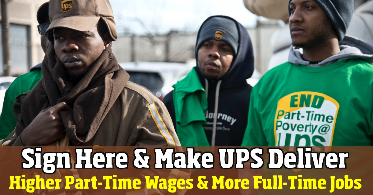 ups package delivery driver salary pa