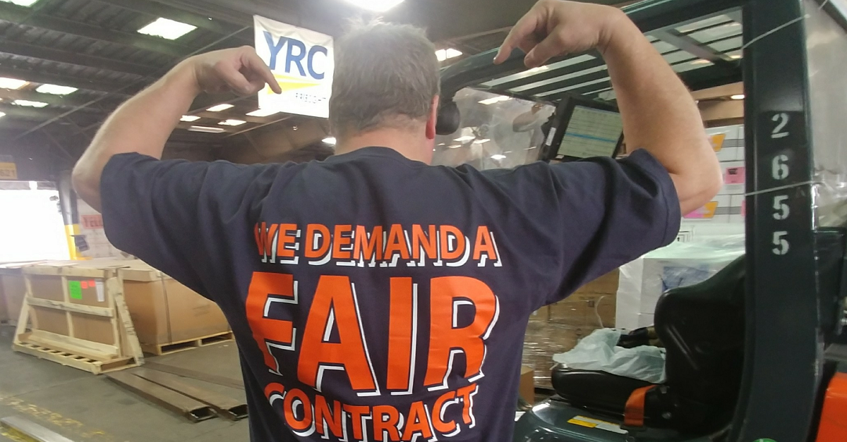 Contracts - YRC Teamsters United for a Good Contract