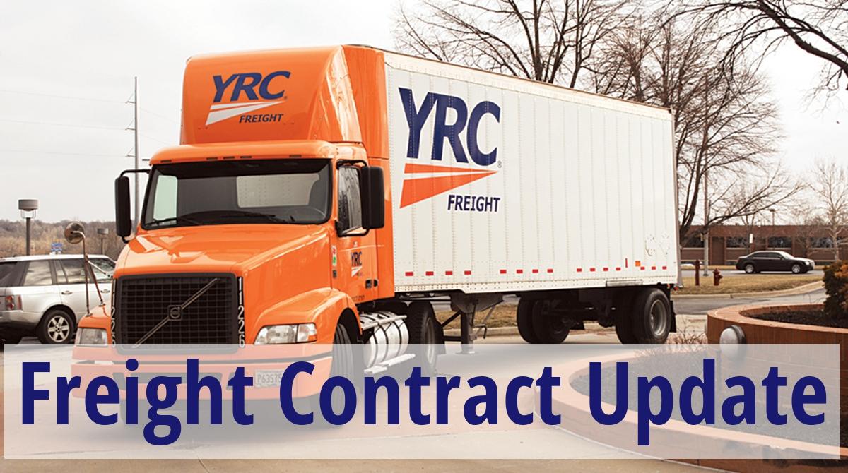 YRC Freight Negotiations Reach Crunch Time - Freight