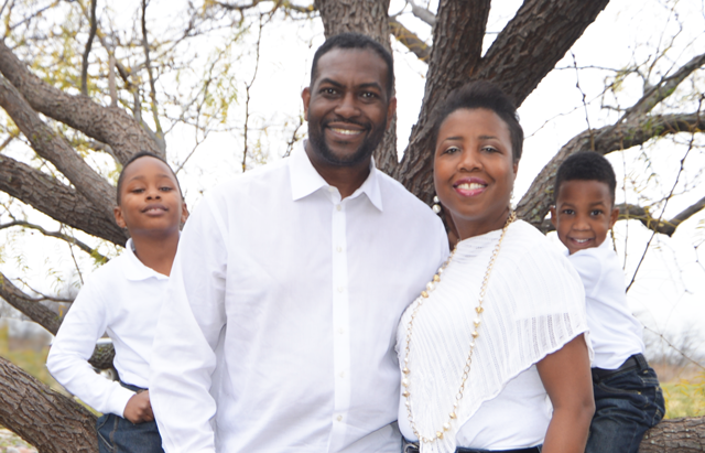 Casey Thomas and Family