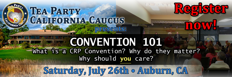 Click here for more info on Convention 101