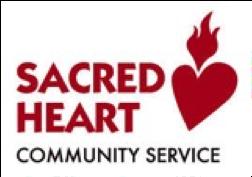 Sacred Heart Community Service logo