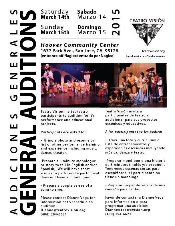 Teatro Audiciones 2015