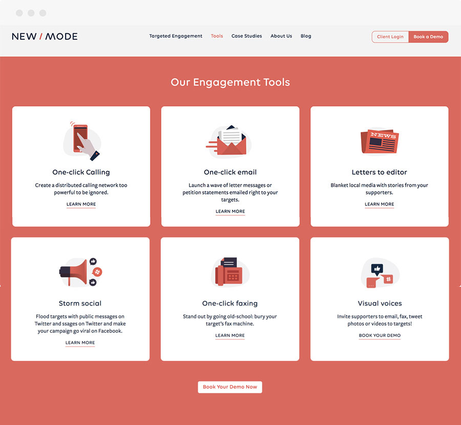 NewMode Engagement Tools
